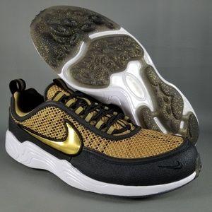 factory price 4d58d 5350b Nike Shoes - Nike Air Zoom Spiridon Golden Shine Mens Shoes 8.5